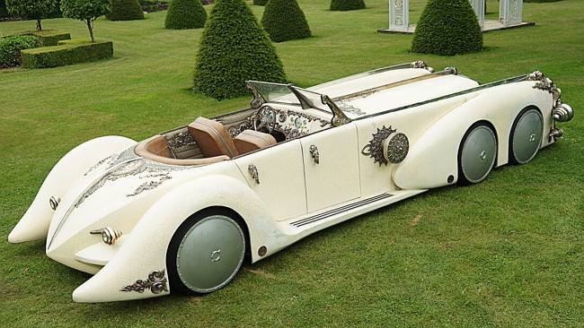 Captain Nemo's Nautilus Car from The League of Extraordinary Gentlemen — yours for only $40,000
