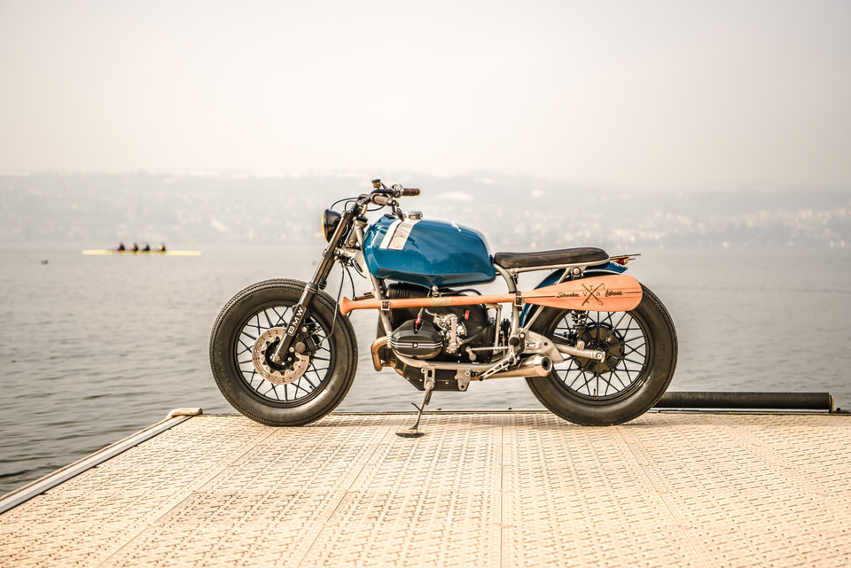 A peach: VTR Customs' BMW R65 'Willoughby 65'.