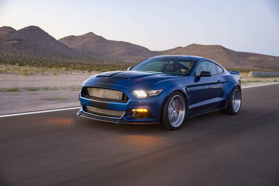 Shelby Super Snake Mustang – Image supplied by Shelby
