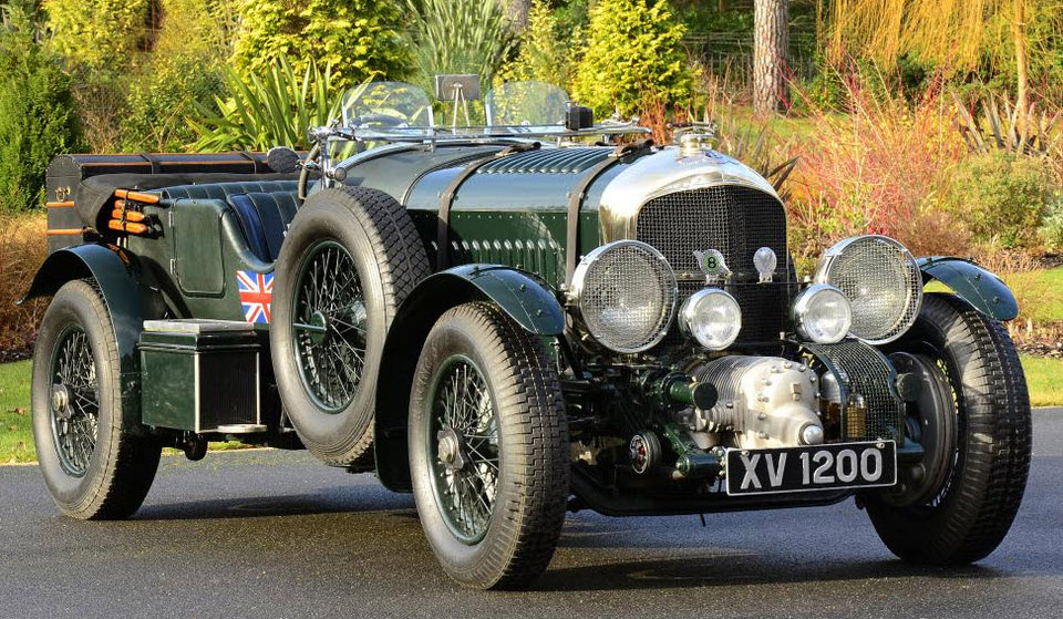Blower Bentley 4.5 Litre
