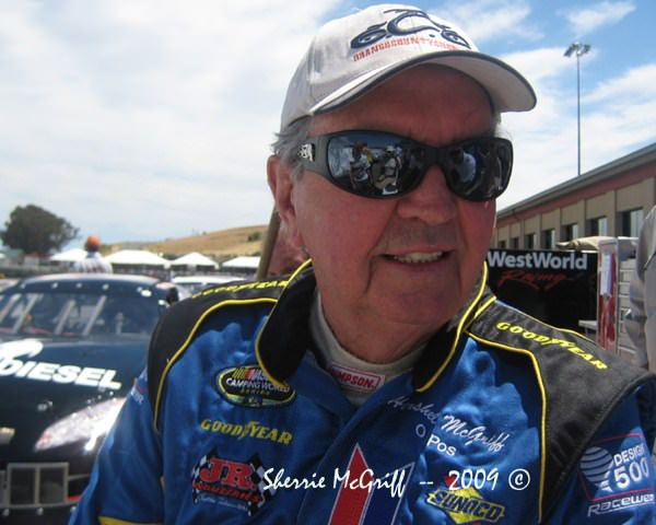 "Ninety-year-old Hershel McGriff, ""The Legend"""